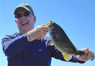 BIg Trophy Smallmouth Bass Makes Me Smile Fishing by Steve